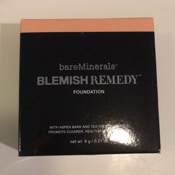 BARE MINERALS NIB Blemish Foundation CLEARLY NUDE